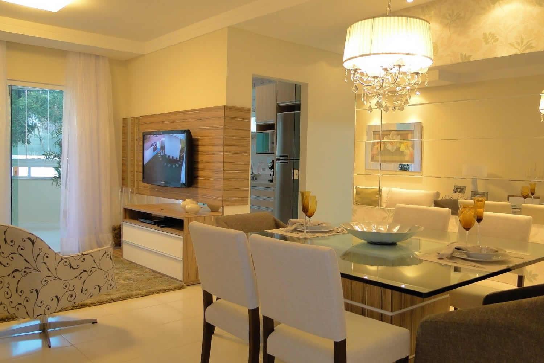 Sala De Jantar Planejada Curitiba Ambiente Certo -> Ver Sala Planejada